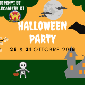 Halloween Party – 28 & 31 Ottobre 2018
