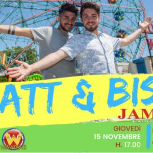Matt & Bise – FIRMA COPIE IL 15 Novembre 2018 al JAMBO1