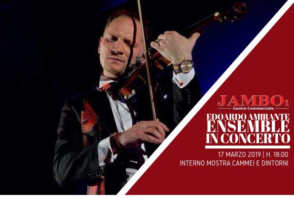 Edoardo Amirante Ensemble in concerto // 17 marzo h. 18:00