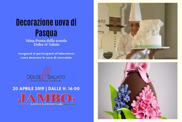 20 Aprile // Apertura UOVO GIGANTE – Decorazione Uova di Cioccolato