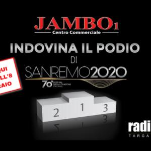 INDOVINA IL PODIO DI SANREMO 2020 – Vota con noi