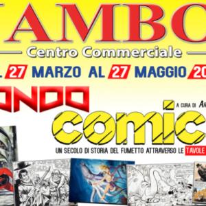 Mondo COMICS arriva al JAMBO // dal 27 marzo al 27 maggio