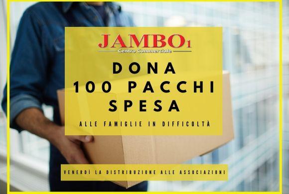 Il Jambo dona cento pacchi spesa alle famiglie in difficoltà – Jambo Social Hub