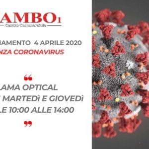 Emergenza CORONAVIRUS – 4 APRILE 2020 – AGGIORNAMENTO ORARI