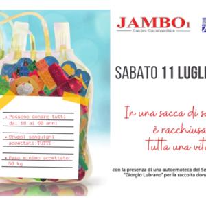 11 Luglio 2020 // Dona sangue per rendere il mondo più sicuro