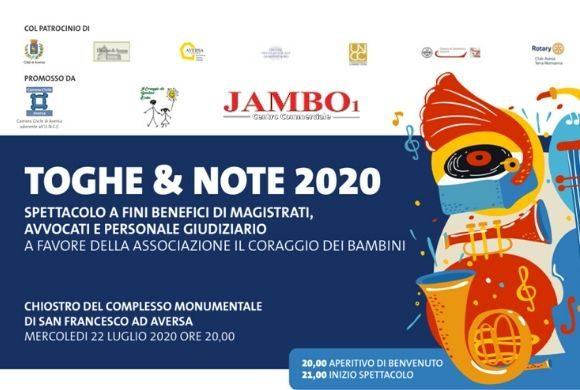 TOGHE & NOTE 2020 // 22 Luglio 2020 // Chiostro Monumentale di San Francesco – Aversa